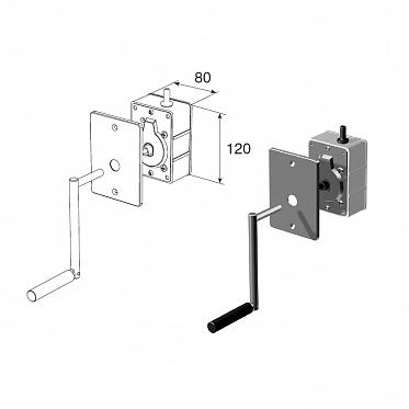 Укладчик для корда редукторный RHF40 (комплект)