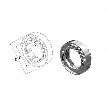 Кольцо ригельное RD40