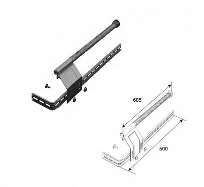 Комплект L/R пружинного амортизатора