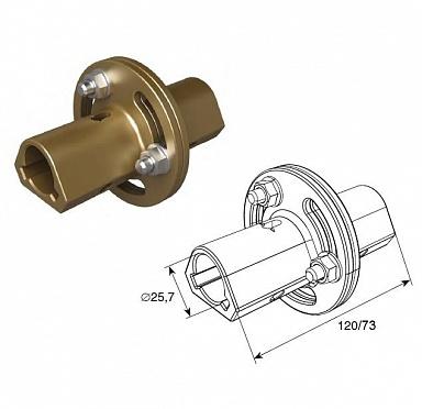 Муфта соединительная регулируемая 120 мм